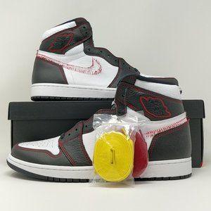Nike Air Jordan Retro I 1 High OG Defiant White